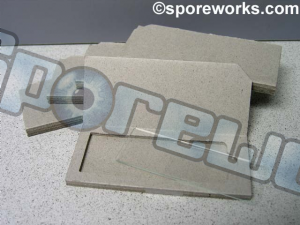 Microscopy Slide Kit : slides, cover glass, protective cardboard mailer