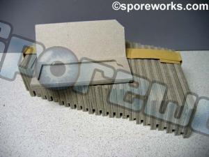 Microscope Single Slide Protector Mailer : Cardboard (25 count)